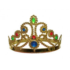 CROWN QUEEN'S W/JEWELS GOLD
