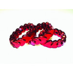 DZ HEART BRACELET RED