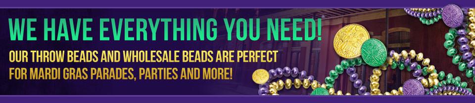 Throw Beads