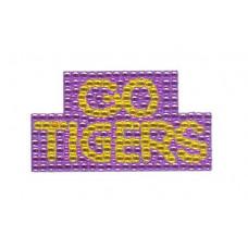 TATTOO TIGERS CRYSTAL PUR GOLD