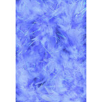 10PC 5' BOA IRID TINSEL LT BLUE