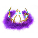BEAD CROWN PURPLE