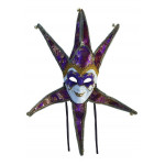 "30"" VENE JEST MASK PURPLE"
