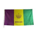 3' X 5' CROWN MG FLAG