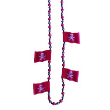 6PC PIRATE FLAG RED