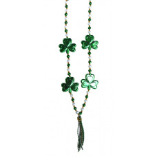 3PC SHAMROCK TASSEL