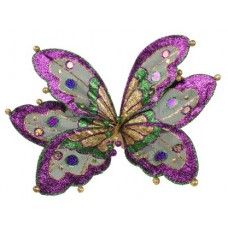"15.5"" BUTTERFLY WITH CLIP"