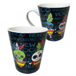 MUG VOODOO DOLL BLACK