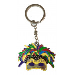 KEY RING MASK FEATHER