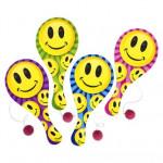 "DZ 9"" PADDLE BALL SMILE"
