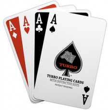 2 DECK SET UP TURBO CARDS PLASTIC